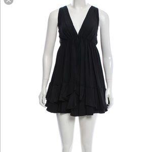Elizabeth and James Priscilla Silk Ruffle Dress